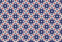 Fabric #geometric