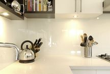 White and Bright / Bright whites, both glossy and matte, create a clean and refreshing environment.