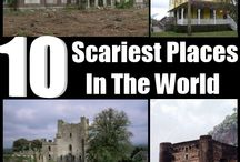 Scariest Places! / If you love scary places to explore, check these out! / by Kellyco Detectors