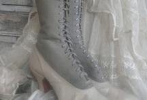 antieke schoenen/laarsjes
