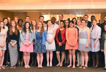 May 2015 Scholarship Breakfast / The Chamber Foundation, Inc., awarded its 2015 scholarships to local high school students at the Contact Breakfast on May 20.
