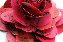 Paper flowers / by Cosmic Creations