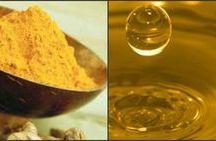olio alla curcuma per uso alimentare e cosmetico