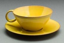 Gelbe keramik