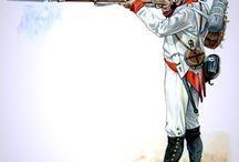 Rakouská pěchota -Napoleonské války