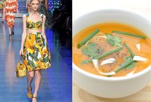 Fashion inspired by food