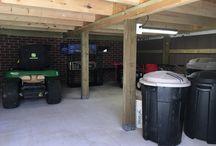 Under deck dry storage