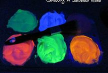 Glow-in-the-dark fun / by Dawnna Morris