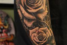 Tatuaje pe mânecă