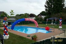 Pools Unlimited / July 4th Pool Parties / Fun 4th of July parties ideas!
