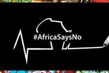 #AfricaSaysNO