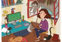 > Raffaella Bolaffio ♣ / Tutte le illustrazioni più belle della bravissima Raffaella Bolaffio. I libri per bambini da lei curati sono coloratissimi e simpatici.