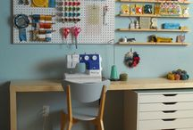 Craft Room/Office / by Megan Burr