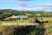 Highlights of the Chemin de Saint-Jacques du-Puy / Everything you need to know about long-distance walking the Chemin de Saint-Jacques in France, from Le-Puy-en-Velay to Saint-Jean-Pied-de-Port - where to find accommodation, what you'll see, suggested itineraries for each stage and loads of practical tips!