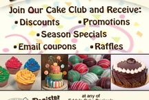 #EddasCakes SALES / Follow this board to keep up with all our seasonal promotions and accolades.