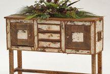Birch Bark Furniture / by Ashley M.