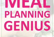 Meal Planning & Prep / Pins about meal planning, meal plans, meal prep, food prep, food storage, planning your meals, meal plan, healthy meals, healthy food, healthy meal planning, and more!