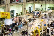 DECO - Salon Déco & Art de vivre 2015 / 102 exposants maison, vintage, jardin, archi, mobilier, luminaire, déco murale, matériaux, etc... Réunis au rez de chaussée du hall déco
