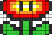 pixel plantes