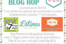 Blog Hop Primer Aniversario