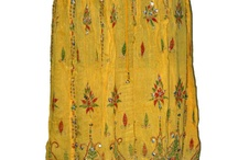 beded  boho long skirt