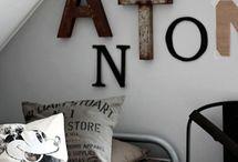 Oppussing av Erlend sitt rom / Tips til stiler for oppussing av Erlend sitt ungdomsrom