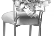 Wedding Chairs / Event Chairs with Decor signage and details