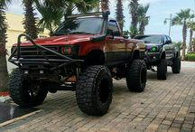 Toyota hilux 4X4 offroad modified