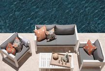 White and Grey Patio