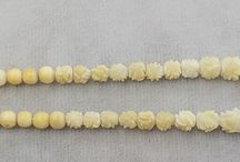 Vintage Jewerly Pre-Ban Carved Ivory Jewelry / by Vintage House Boutique