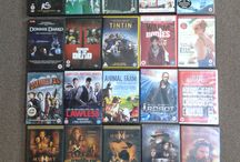 Media Collection / My paper books, DVDs, PS2 and PS3 games, Audio CDs