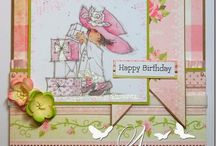 Lili of the Valley / Cards with Lili of the Valley stamps and art pads