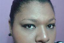 Maquiagem para negras / Maquiagens para mulheres negras usarem em diversas ocasiões.