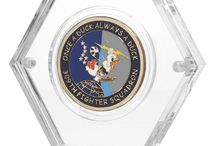 Challenge Coin Displays / High quality displays for your challenge coins, medallions, coins and other similar sized items.