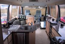 camping in style / its all about space and no clutter.
