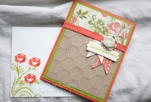 Honeycomb embossing folder/su