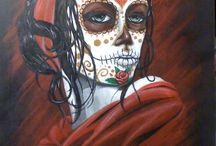 Sugar Love/Day of the Dead / My love sugar skulls... / by jessielee 83