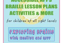 Blind. How to / Information on how to help babies/children