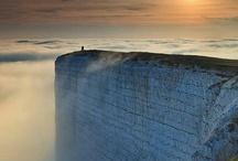 Precipitous cliff