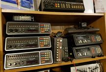 Radio Scanners / My collection of scanners old and new. Some programmable and some crystal controlled VHF / UHF