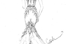 The birth of a Couture dress