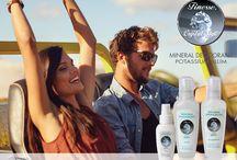 Deodoranti naturali / Finesse produce una linea di prodotti naturali a base di allume di potassio.