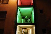 shippingcontainerhouseideas / by Jon Butler
