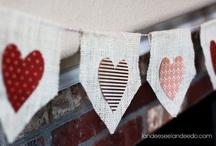 Valentine Banner / DIY crafts for Valentine's day