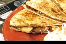 Savory Recipes-Quesadilla & Pizza