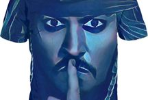 Dead Men Tell No Tales - Jack Sparrow Crystal Blue Collection..