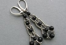 Beaded Earrings / by deb rowe
