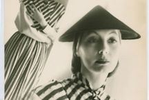Valentina Nicholaevna Sanina Schlee / simplicity survives the changes of fashion. Women of chic are wearing now dresses they bought from me in 1936. Fit the century, forget the year