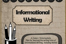 Informational writing / by Elizabeth Beere