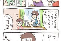 おもしろ松漫画